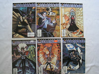 The BOOK of LOST SOULS :COMPLETE 6 ISSUE SERIES by STRACZYNSKI & DORAN.ICON.2006