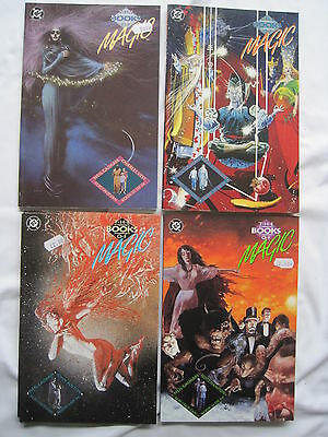 The BOOKS of MAGIC : COMPLETE 4 ISSUE PRESTIGE SERIES by GIAMAN & BOLTON.DC.1990