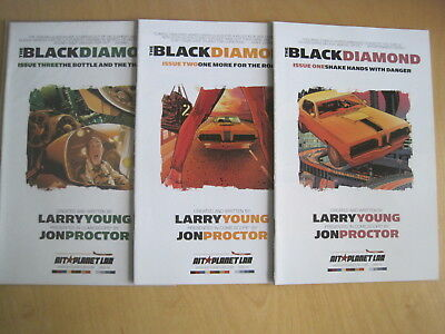 The BLACK DIAMOND : COMPLETE 3 ISSUE 2007 SERIES from AIT PLANET LAR (SAN FRAN )