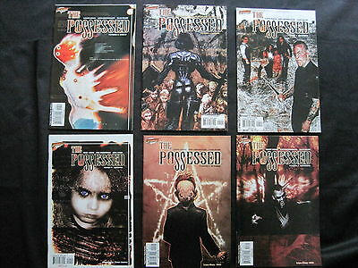 The POSSESSED : COMPLETE 6 ISSUE SERIES by JOHNS & GRIMMINGER. CLIFFHANGER.2003