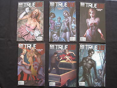 True Blood : Tainted Love : Complete 6 Issue Series. Explicit Content. Idw. 2011