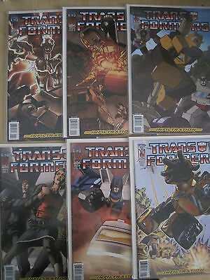 "Transformers : "" Infiltration "" : Complete 6 Issue Series. Idw. 2006"
