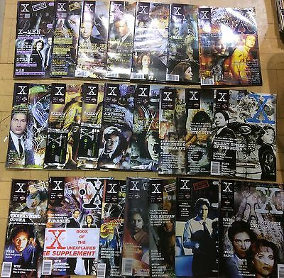 THE X FILES : COMPLETE 22 ISSUE SERIES. UK Manga Publishing 1995. MULDER,SCULLY.