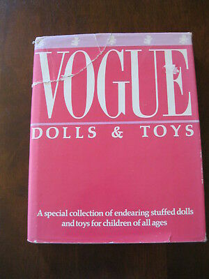 Vogue Dolls and Toys: Inc: Endearing Stuffed Dolls :1986 :Preloved