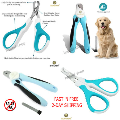 Medium Large Dog Nail Clippers Trimmer Pet Cat Cutting Scissors Claw Care Tool N