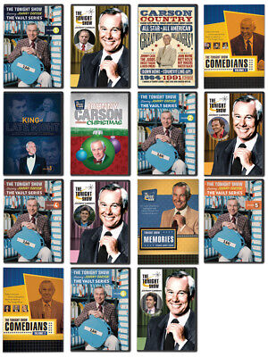 Johnny Carson Tonight Show 15 DVDs NEW / Out of Print / Full Shows & Highlights!