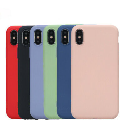 Case for iPhone 11 8 7 6 Plus XR XS MAX ShockProof Soft Phone Cover TPU Silicone