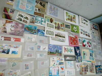 Nystamps Worldwide many mint stamp & souvenir sheet collection