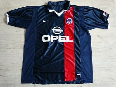 maillot retro foot PSG domicile 2001 2002 L jersey maglia Paris Saint Germain