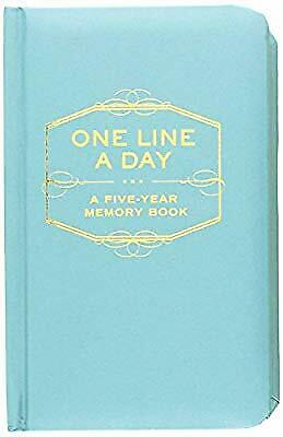 One Line a Day: A Five-Year Memory Book, , Used; Good Book