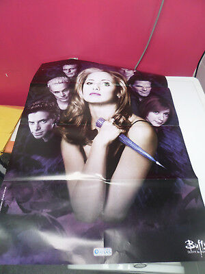 "Poster ""Buffy contre les vampires"" (éditions Atlas)"