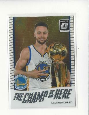 47da9ede313b 2017 PANINI DONRUSS Optic The Champ is Here Red  5 Stephen Curry ...