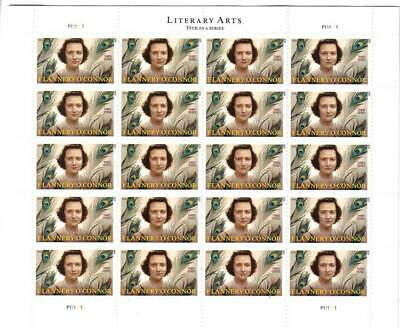 Us Scott 5003 Pane Of 20 Flannery O'connor 3 Ounce Stamps Forever Mnh