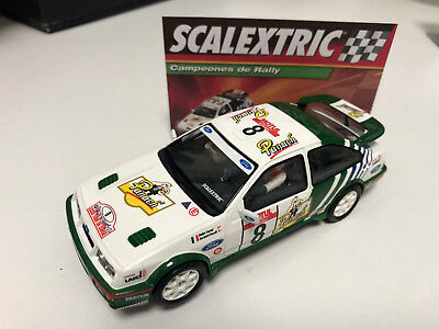 "Slot Ford Sierra Rs Cosworth ""tour De Corcega 1988""   Scalextric"