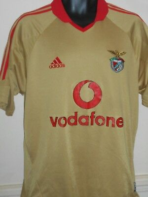 Benfica Away Shirt (2004/2005) medium men's #872