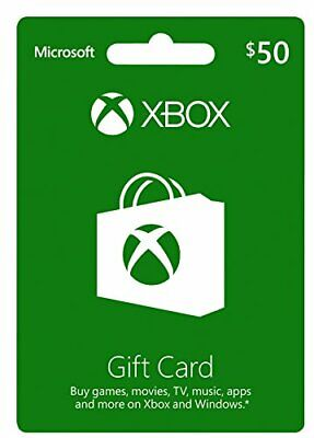 Xbox Gift Card USD 50 Import Version North America