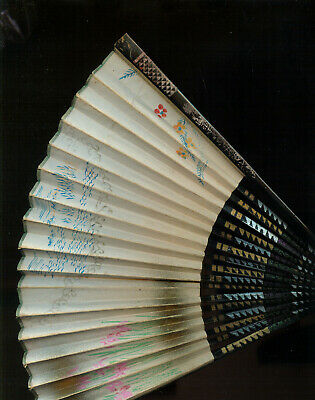 VINTAGE 1950s JAPANESE FAN (J801) A RELIC OF THE PAST!!!