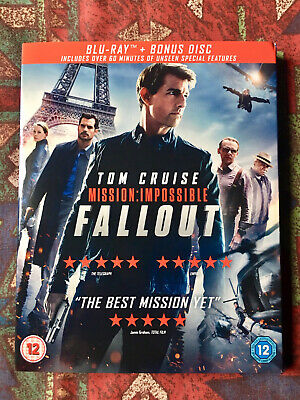 *NEW* Mission Impossible Fallout (2-Disc Blu-ray)
