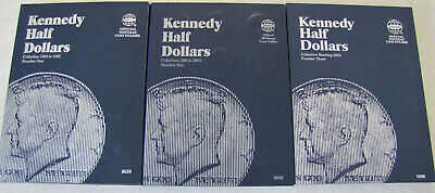 Nearly Complete 1964- 2018 PD Kennedy Set - 101 Circulated Coins - Missing 1970d