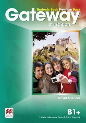 Gateway 2nd Edition B1 Students Book Pre by David Spencer, NEW Book, FREE & Fast