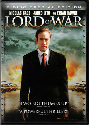 LORD OF WAR The MOVIE a 2 DVD on GUNS WEAPONS Dealer NICOLAS CAGE in DOCUMENTARY