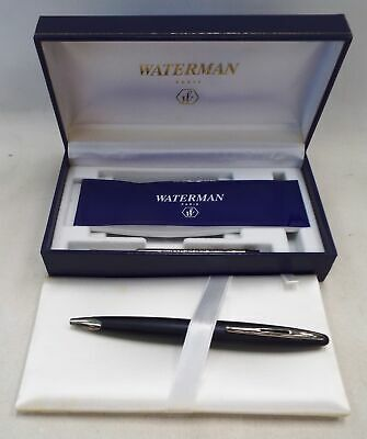 WATERMAN Paris Ballpoint Pen With Original Box And Ink Cartridge - M08