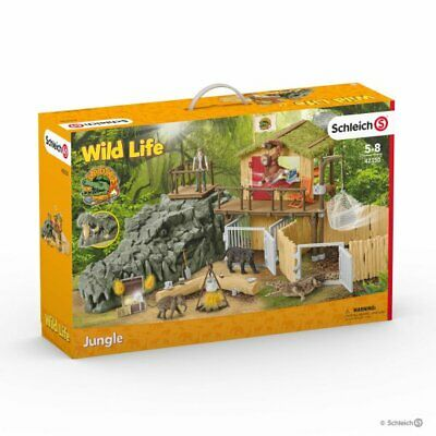 Croco Jungle research station 42350  Schleich Horse World item <><