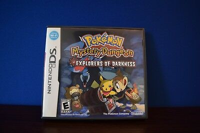 Case Only! ds No Game!! Fine Pokemon: Mystery Dungeon Explorers Of Darkness