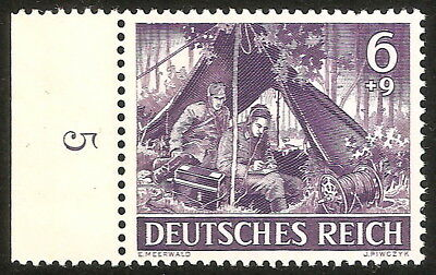 DR Germany RARE NAZI WWII WW2 WK2 STAMP REICH ARMY Wehrmacht FORCE COMMUNICATOR