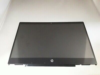 HP Pavilion X360 14 CD Series FHD LCD Screen Touch Digitizer Assembly with Frame