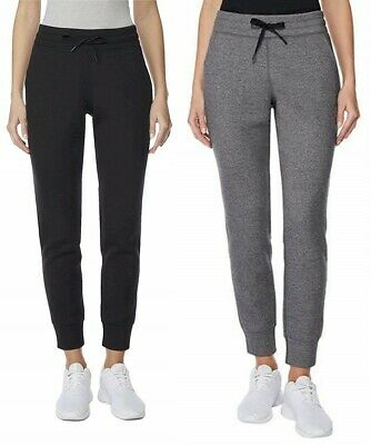 32 Degrees Womens Tech Fleece Jogger Pants Choose Size & Color -E