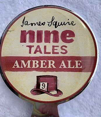 Tap Beer Decal James Squire Nine Tales Amber Ale Double Sided Acrylic Top!