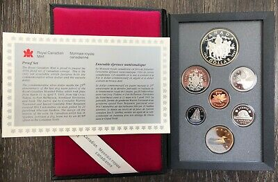 1994 Canada Silver Double Dollar 7-Coin Proof Set - RCMP Dog Patrol