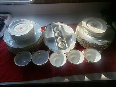 Bavarian Germany Hutschenreuther Selb 38 Piece set of China Dishes...