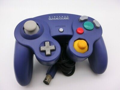 Nintendo Official GameCube GC Wii Switch Controller Pad Purple Japan 324-2