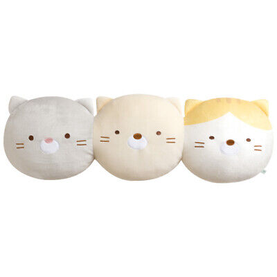 NEW Sumikko Gurashi Neko Face Cushion Roll Large DX Plush 40cm SS9190 US Seller