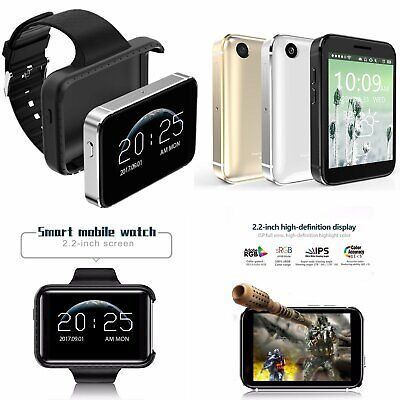 3G GSM IOS & Android Compatible SmartWatch and Phone +