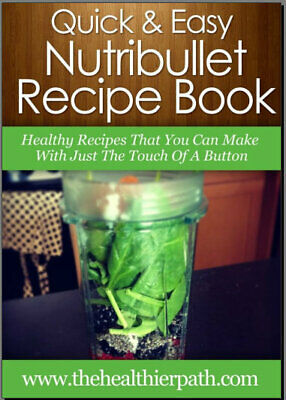10-Day Green Smoothie Cleanse by Nutribullet 003NT - Eb00k/PDF - FAST Delivery