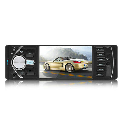 4.1 auto Stereo Radio Mp5 Player Bluetooth 1 Din Usb Aux Fm Rearview Fernbedien
