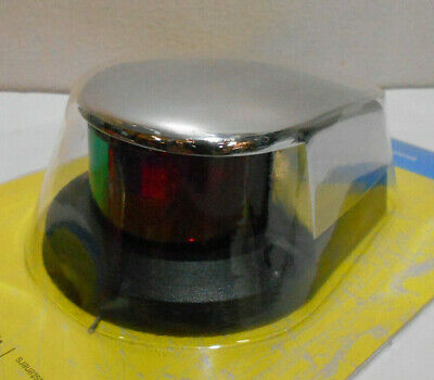 Seachoice LED Bi-Color Bow Navigation Deck Light SCP 02021 Red Green