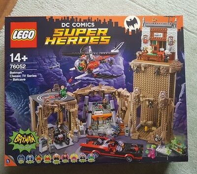 LEGO DC Super Heroes 76052 Batman Classic TV Series - Batcave | New & Unopened