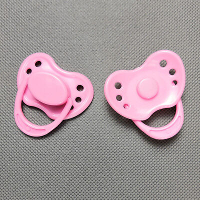 Magnetic Dummy Pacifier For Reborn Baby Internal Magnet Dolls Accessories