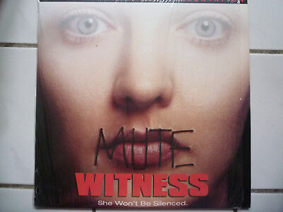 Mute Witness (Thriller Mystery Drama Anthony Waller US Deluxe WS Laserdisc 1995)
