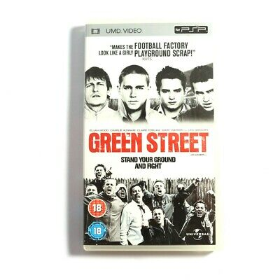 PSP UMD Video Green Street Stand Your Ground And Fight dans l'emballage utilisé