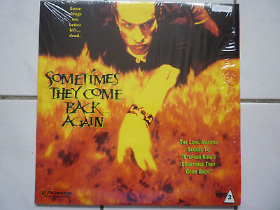 Sometimes They Come Back Again (Stephen King Hilary Swank US Laserdisc 1996!!!!)