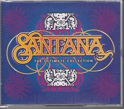 Santana - The Ultimate Cllection  / Sony 2000  / 3 Cd Box