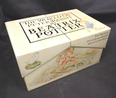 THE WORLD OF PETER RABBIT By BEATRIX POTTER Hardback Books 1x Missing  - N10