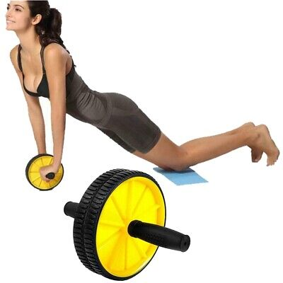 Gym Fitness Ab Roller Wheel Core Strength Abdominal Workout Training Exercise