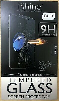 Screen Protector For Apple iPhone 7+ 8+ Tempered Glass 100% Genuine