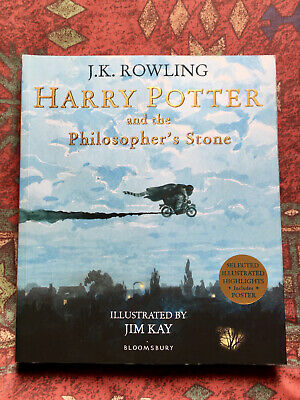 Harry Potter & The Philosophers Stone by J K Rowling - Illustrated Edition